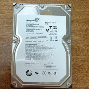 HDD 3.5インチ 1TB SEAGATE