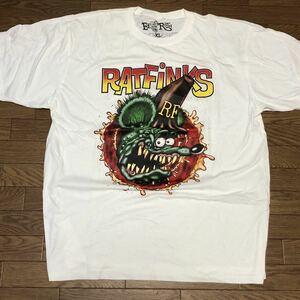 ラットフィンク 半袖 Tシャツ エドロス XL ビッグサイズ