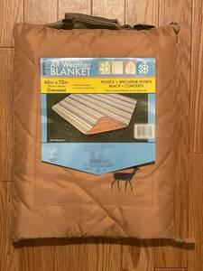 レジャーマット レジャーシート オールウェザー ブランケット キルティング 大判 152×183 持ち手 持ち運びベルト付 敷物 テント