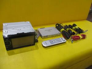 動作OK中古★カロッツェリアAVメインユニット(2×2フルセグ地デジチューナーGEX-700DTV付)★FH-770DVD★DVD/CD/フロントAUX/USB/スマホ連結