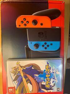 Nintendo Switch + Pokemon Sword