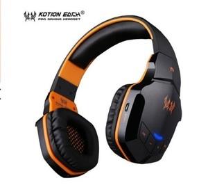 t100 ワイヤレスヘッドセット bluetooth ゲーミングヘッドホン FPS 装着性 臨場感 高音質 PC/ゲーム機 ブラック&オレンジ