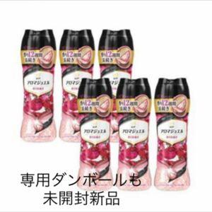レノアハピネスアロマジュエル アンティークローズ&フローラルの香り 470ml×6本 新品