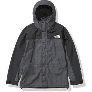 新品 ノースフェイス マウンテンライト デニム ジャケット L ブラック 黒 Mountain Light Denim Jacket NP21032 ゴアテックス GORE SUPREME