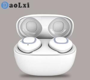 ◇特価 ワイヤレスイヤホン bluetooth ホワイト ハンズフリー Siri 通話 簡単操作 遮音性 高音質 充