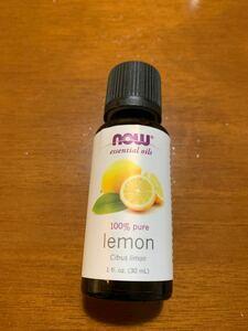 エッセンシャルオイル 精油 30ml ナウフーズ レモン