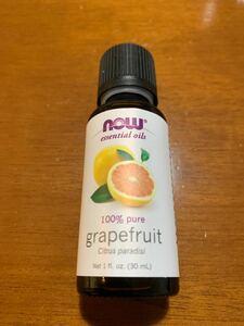 NOW Foods エッセンシャルオイル 精油 30ml グレープフルーツ
