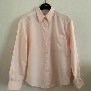 Eddie Bauer レディース シャツ ベビーピンク M相当 エディー・バウアー ブラウス 秋 アウトドア 女性 綿 pink カジュアル 屋外 キャンプ