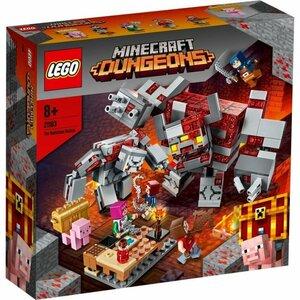 即有 新品未開封 LEGO レゴ 21163 マインクラフト レッドストーンの決戦 MINECRAFT The Redstone Battle 同梱可能 宅急便 送料950円~