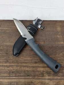 キャプテンスタッグ アタッカー万能鉈 ケース付 サバイバルナイフ ナイフ 剣鉈 シース
