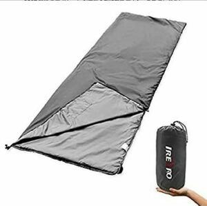 寝袋 夏用 おしゃれ 封筒型 アウトドア キャンプ 防災用 丸洗い可能