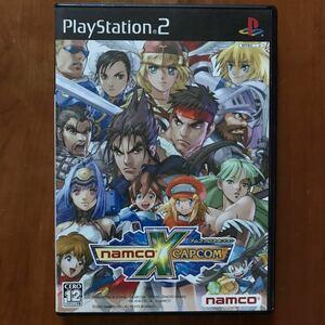【PS2】ナムコクロスカプコン NAMCO × CAPCOM ナムコ