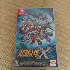 Nintendo Switch スーパーロボット大戦X 任天堂スイッチ ソフト