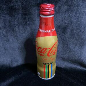 新品 未開封 コカ・コーラ スリムボトル 地域限定 オリンピック TOKYO 2020 限定缶 缶ボトル 五輪 ゴールド コーラ