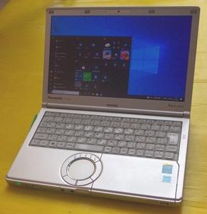 8NN Pnasonic CF-SX3 Corei5 4300U / 大容量メモリ8GB /SSD:大容量500GB / Wlan / 最新のOffice2019 / Win10Pro 64 Bit