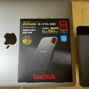 ☆新品未開封 SanDisk Extreme ポータブルSSD 500GB サンディスク 耐衝撃 防滴 防塵 エクストリーム☆