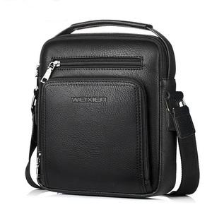 ☆彡 新品 WEXIER メンズショルダーバック&ハンドバック 通勤、通学、旅行、大容量 ブラック