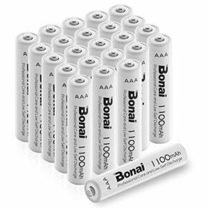 24個パック 単4電池 充電池 24本 BONAI 単4形 充電池 充電式ニッケル水素電池 24個パック PSE/CEマーキング