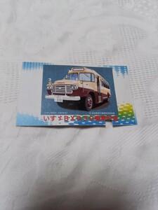 ボンネットバス記念乗車券(使用済み)