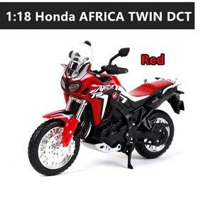 1:18 Honda ホンダ DTC アフリカツイン バイク オートバイ 合金 模型 ミニカー