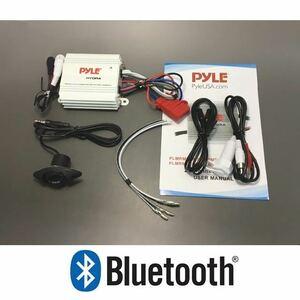 【即納】400W Bluetooth内蔵 マリンオーディオ マリンデッキ マリンアンプ ジェットスキー 水上バイク トライク バギー 管理番号[US0549]