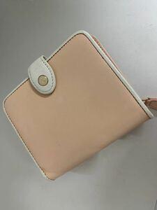 ¥3980→3500→3333値下げ★美品 Kitamura キタムラ★革素材財布