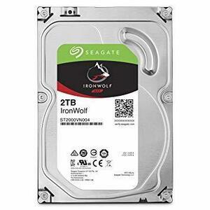 ●新品未使用● HDD : 高耐久・NAS向け B : 2TB Seagate IronWolf 3.5 データ復旧3年付 2TB
