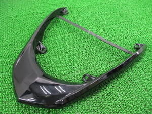 中古 社外 バイク 部品 CrossDock製シグナスX125 グラブバー 社外 黒 SE44J リアスポイラー コンディション良好 割れ欠け無し