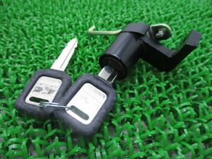 新品 カワサキ 純正 バイク 部品 ZXR400R シートロックキー 純正 在庫有 即納 廃盤 在庫有り 即納可 車検 Genuine