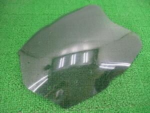 中古 社外 スキッドマークス製K1600GTL スクリーン 社外 WB1060204CZ395*** ライトスモーク ツーリングウインドシールド 割れ欠け無し