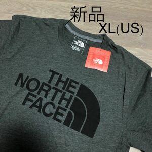 THE NORTH FACE ハーフドーム Half DOME ダークグレー ロゴTシャツ ビッグロゴ 半袖Tシャツ Tee