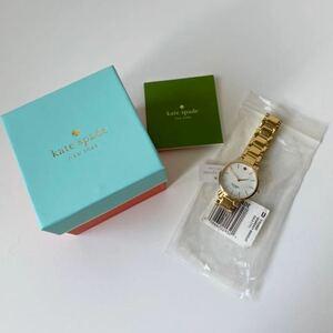 ジャンク品 腕時計 未使用 B品 ケイトスペード グラマシー ゴールド腕時計 クォーツ時計