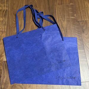 2枚セット ヨウジヤマモト ワイズ Discord yohji yamamoto Y's 紙袋 ショッパー 山本耀司 買い物袋