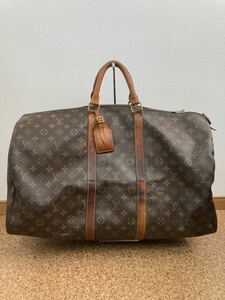 ★1円 ヴィンテージ Louis Vuitton ルイヴィトン キーポル 55 ボストンバッグ M41424 ユニセックス モノグラム ★k000419