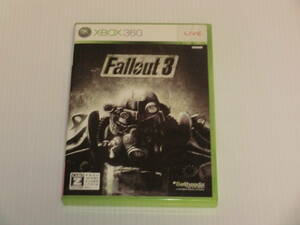 Fallout 3(フォールアウト 3) / Xbox360 ベセスダ・ソフトワークス