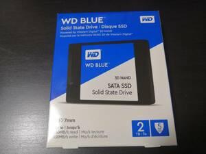 Western Digital SSD 2TB 新品