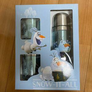 【最終値下】アナ雪2 オラフ 水筒&カップ2個セット【これ以上は値下げできません】
