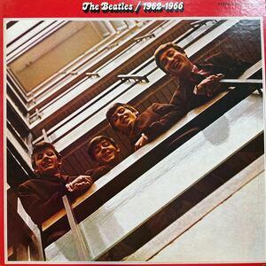 2LP ◎ The Beatles「1962-1966」EAS 77034 ザ・ビートルズ 解説書 John Lennon Paul McCartney 国内盤 レコード