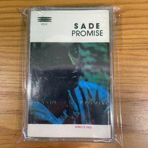 新品未開封! Sade「Promise」カセットテープ 輸入盤 正規品 Official シャーデー CHILL Ambient R&B 傑作 レコード LP T-Shirt RARE!!