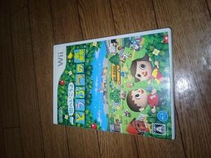 Wii ソフト どうぶつの森