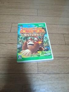 ドンキーコングリターンズ Wiiソフト