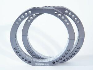 TB016-114mm/115mm鏡筒用 超軽量化設計鏡筒バンド クリックポスト送料一律200円
