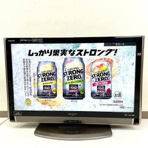 2011年製 SHARP シャープ AQUOS アクオス BD内蔵 32インチTV 液晶テレビ LC-32DX3 リモコン付き K3804