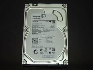 【検品済み】Seagate 3TB HDD 3.5インチ ST3000DM001 (使用2980時間) 管理:e-39
