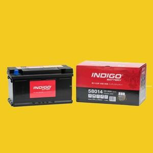 【インディゴバッテリー】58014 ジャガー X タイプ GH-J51WA 互換:MF58043,LBN4 輸入車用 新品 保証付 即納