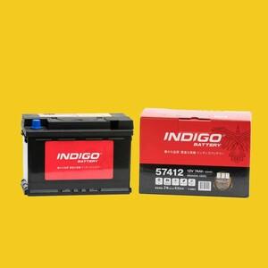 【インディゴバッテリー】57412 MINI R57 コンバーチブル ABA-MR16 互換:PSIN-7C,LN3 輸入車用 新品 保証付 即納