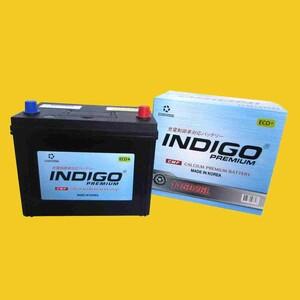 【インディゴバッテリー】115D26L マツダスピードアテンザ('05~08) DBA-GG3P 互換:110D26L,115D26L 充電制御車対応 新品 即納 保証付