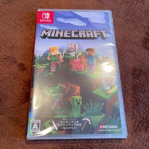 Minecraft Switch マインクラフト スイッチ 新品未開封