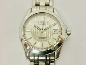 B605-I30-923◎ OMEGA オメガ Seamaster シーマスター 1681601 Cal.1120 23石 デイト メンズ 腕時計 自動巻き 稼働 ④