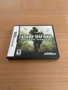 (CALL OF DUTY 4 MODERN WARFARE)コールオブデューティ4 モダンウォーフェア【Nintendo DS】